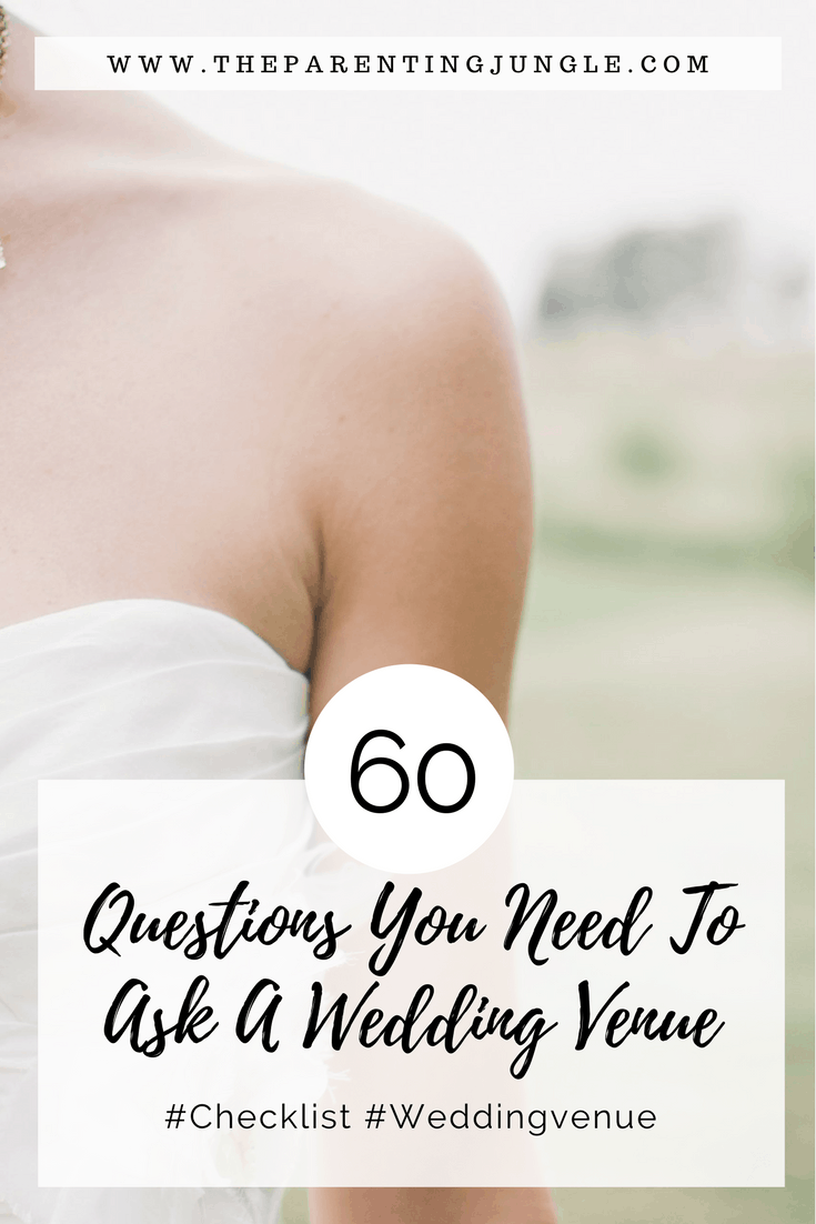 Pinterest Weddng venue questions
