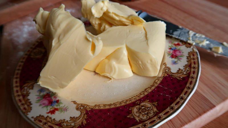 Butter for caramel