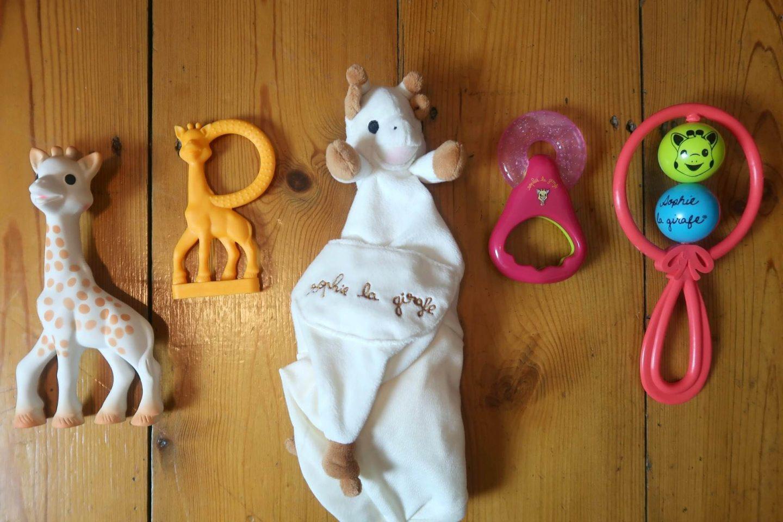 Sophie newborn toys