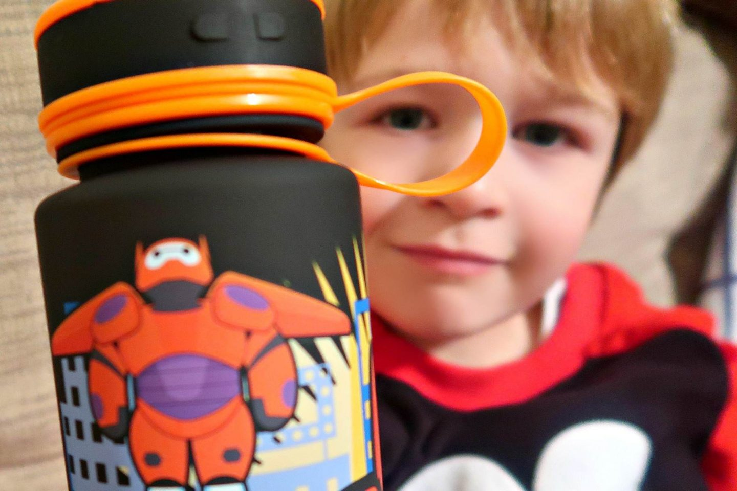 Disney Store Baymax drinks bottle