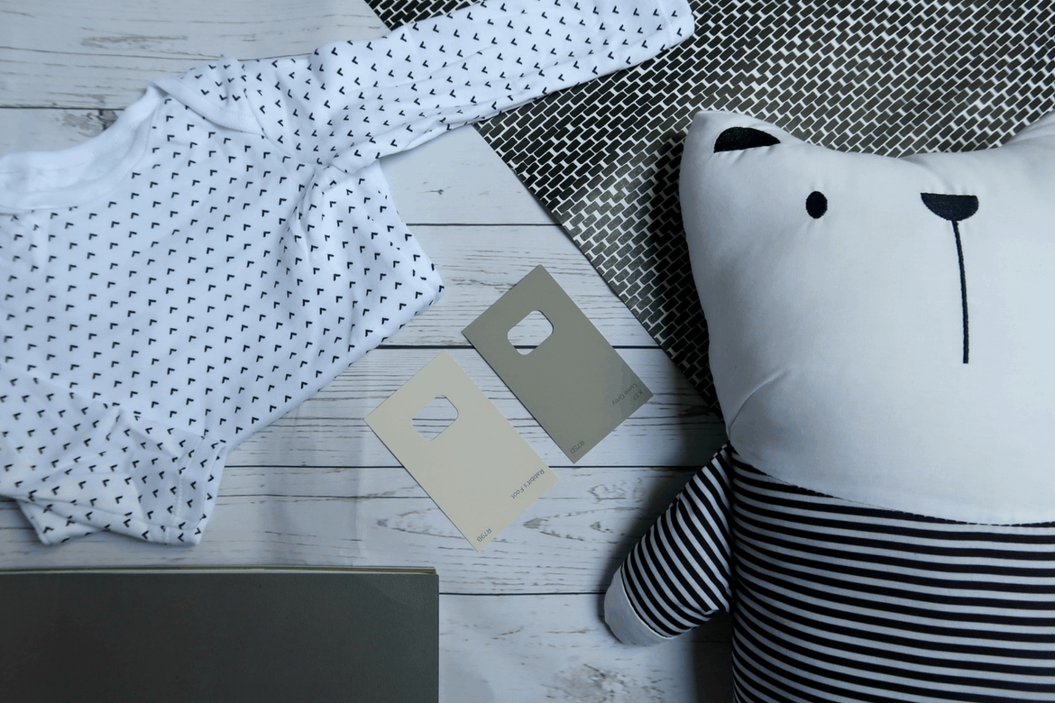 Decorating A New baby Nursery With #Valspar Paint