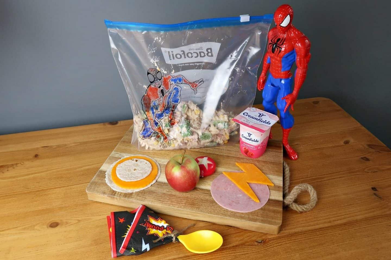 Superhero lunchboz ideas